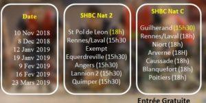 Évènement à Venir ! Match Basket avec le SHBC le 10 Nov !