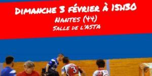 3 février, Match Hockey-Fauteuil